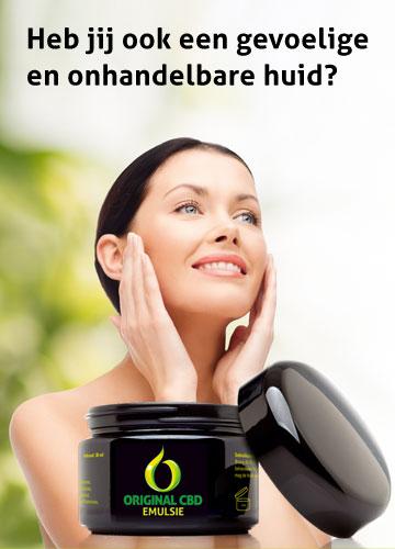 original CBD | Original CBD-emulsie pakt al uw huid problemen en kwalen aan!